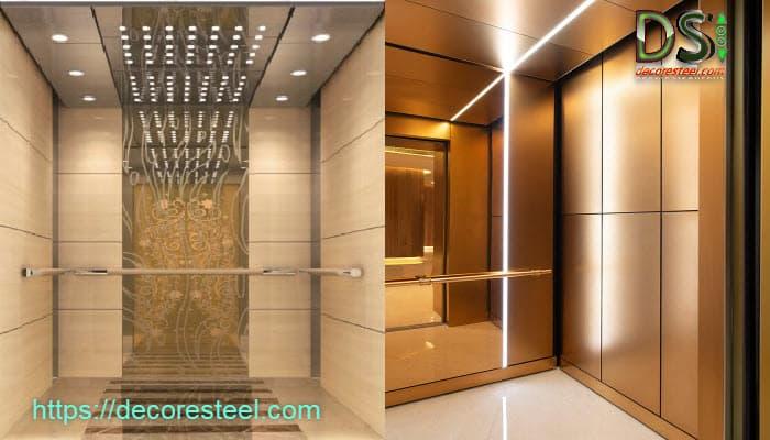 تزئینات کابین آسانسور شامل چه خدماتی می باشد؟