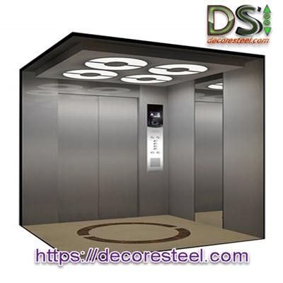 تزئین کابین آسانسور مکان های اداری و تجاری
