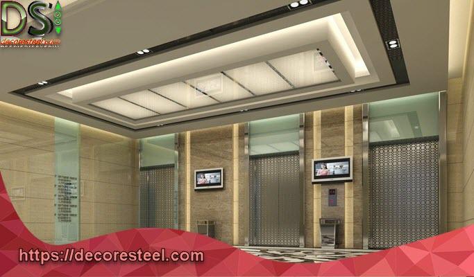 طراحی لابی آسانسور