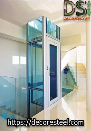 خرید اینترنتی کابین آسانسور شیشه ای