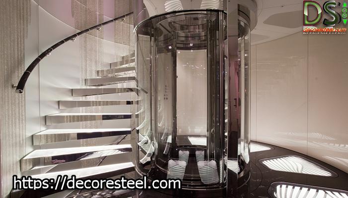 کابین آسانسور شیشه ای چیست؟